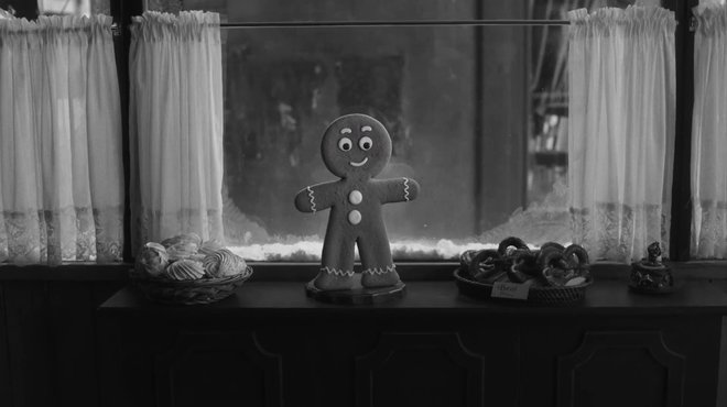 Gingerbread Man Animation